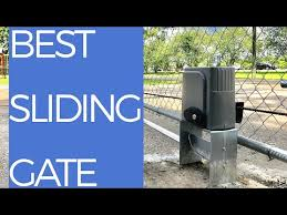 Co Z Automatic Sliding Gate Review How To Install Youtube