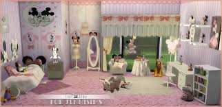 Kids Furniture Bedroom Minnie Mouse Faby Jenni 19 Items At Jenni Sims Sims 4 Updates