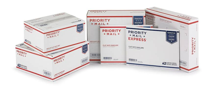 Image result for flat rate boxes-usps""