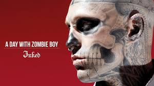 looking back at the life of zombie boy