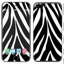 Skin Decal Vinyl Wrap For Apple Iphone 7 Plus Or 8 Plus Zebra Animal Itsaskin Com