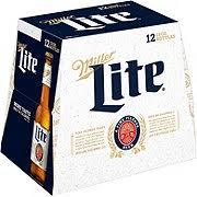 miller lite beer 12 oz bottles