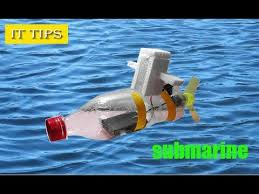 mini submarine with dc motor
