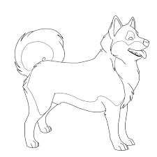 Free Printable Husky Pictures To Color Color Me Husky By