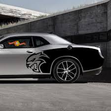 Hellcat Billboard Vinyl Graphic Decals Dodge Challenger 2015 2016 2017 2018 2019 2020
