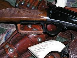 leather lever wrap for lever action
