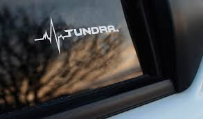 Product Toyota Tundra Is In My Blood Window Sticker Decals Graphic