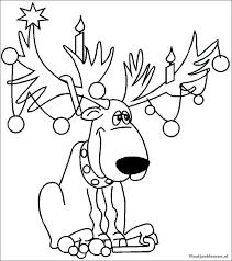 Stunning Cliparts Kleurplaat Kerstman Met Reindeer Clipart 50