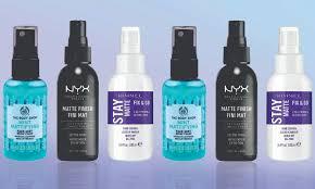 the 5 best setting sprays for oily skin