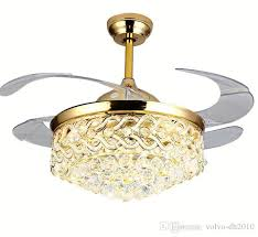 2020 crystal ceiling fan 42 inch