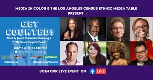 Black and Brown Media Influencers to discuss Census….. Facebook Live – May  14 – Beach City Radio