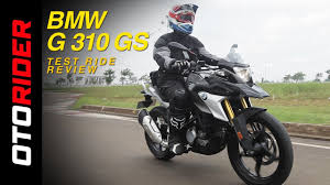 bmw g 310 gs test ride review indonesia