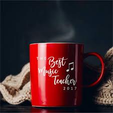 Custom Coffee Cup Decal Coffee Mug Sticker Vinyl Sticker Music Teacher Cup Gift School Teacher Present P Custom Coffee Cups Custom Coffee Presents For Teachers