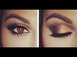 black and gold eye makeup ideas 2020