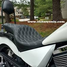 victory motorcycle seat low profile