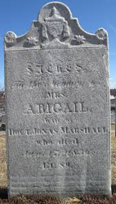 Mrs Abigail Marshall (1747-1836) - Find A Grave Memorial