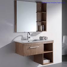 china marble top slim bathroom storage