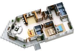 spectacular modern 3d house plans