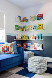 Floating Shelves Sofa Create Reading Corner In Kids Room Hgtv