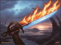 wallpaper of the week sword of fire