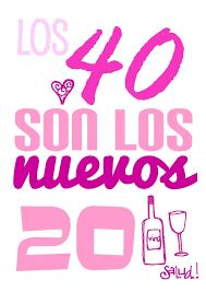 Detalles Y Dulces Para Una Fiesta De Los 40 Cumpleanos 40 Feliz