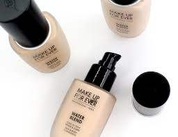 water blend face body foundation