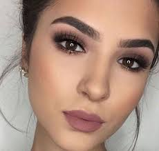 simple makeup ideas for brown eyes that
