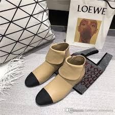 women white flat ankle boots fashion