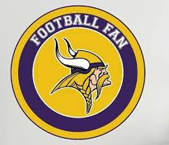 Nfl Logo Vikings Wall Decal Minnesota Football Fan Home Sport Room Decor Cg2845 Ebay