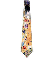klimt the kiss art necktie