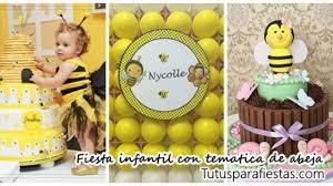 Fiesta Infantil Con Tematica De Abejas
