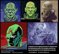 Comic Character Studies | Byron Roberts (Bal-Sagoth)