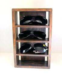 sunglass holder for wall storage