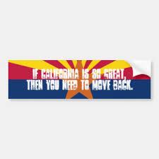 Arizona Bumper Stickers Decals Car Magnets Zazzle