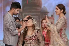 kashees bridal makeup in shaista lodhi