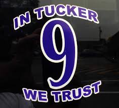 Raven Zone Baltimore S 1 Fanshop For Officially Licensed Baltimore Ravens And Orioles T Shirts Apparel Merchandise And Much More In Tucker We Trust 9 Car Window Decal Raven Zone Sports