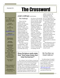 The Crossword - Barry County Christian