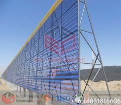 Wind Breaker Fencing System
