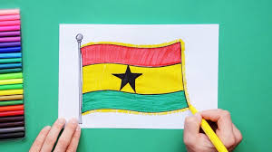 How to draw the National Flag of Ghana ...
