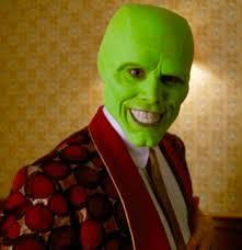 Jim Carrey as the mask