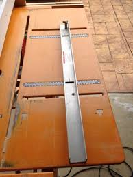 Diy Table Saw Rip Fence 6 Steps With Pictures Instructables