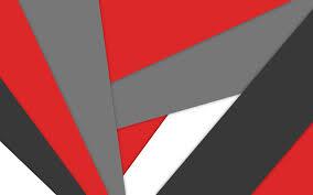 تحميل خلفيات 4k الروبوت أسود أبيض أحمر مصاصة الأشكال الهندسية