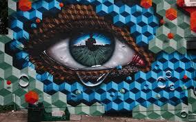 تحميل خلفيات الكتابة على الجدران تبكي العين رسومات على الجدار
