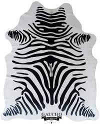 com zebra cowhide rug kitchen