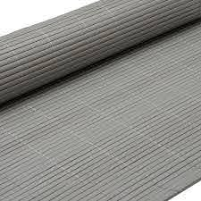 Pvc Garden Fence Plastic Panel Screen Double Faced New 3m Long 1 80m Tall Grey Pvc Blinds Garden Fence Pvc