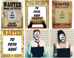 Fotomontajes Carteles Se Busca Wanted Fotoefectos