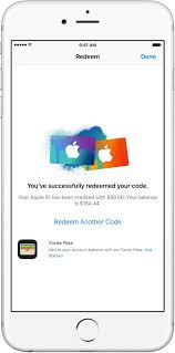 redeem itunes or apple gift cards