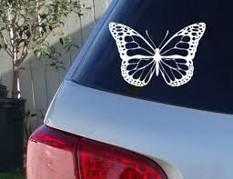 Butterfly Car Window Decal Monarch Butterfly Car Decals Etsy In 2020 Car Decals Car Car Window Decals