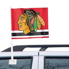 Chicago Blackhawks Wincraft 11 X 13 Two Sided Car Flag