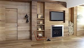 amazing oak theme living room design